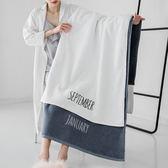 浴巾純棉成人柔軟超強吸水毛巾男女士速干個性感全棉大號情侶浴巾 東京衣櫃