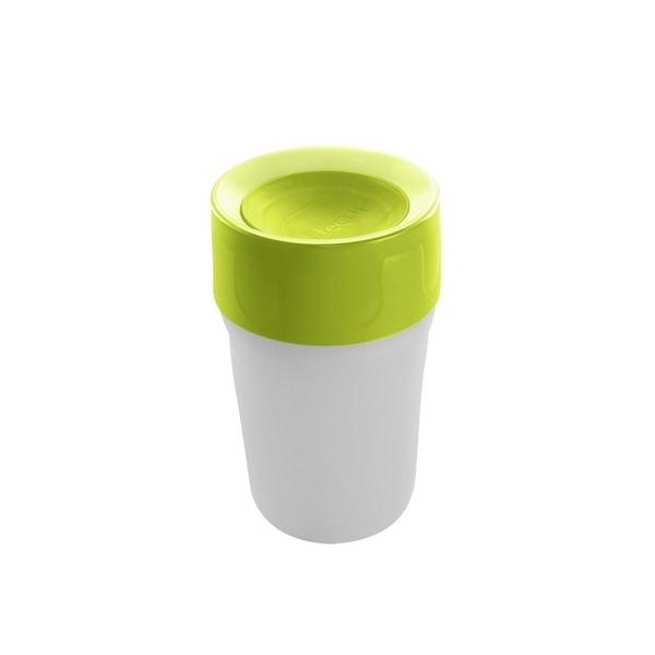 【英國litecup】發光不灑杯 幼兒夜燈水杯蘋果綠