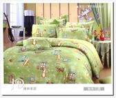 單人兩用被床包組/純棉/MIT台灣製   覓兔花園  2色