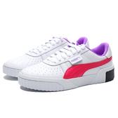 PUMA CALI CHASE WNS 白 白桃紫 皮革 運動 休閒鞋 女 (布魯克林) 36997002