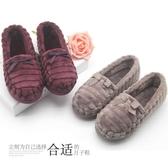 月子鞋秋冬厚款法蘭絨軟底保暖防水防滑抗震孕婦鞋產婦鞋包跟拖鞋 錢夫人