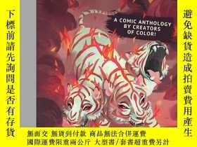 二手書博民逛書店ELEMENTS:罕見Fire - A Comic Anthol