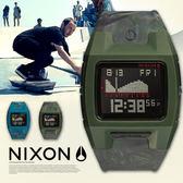 NIXON A281-1727 The Lodown Silicone 全球潮汐錶 手錶 熱賣中!