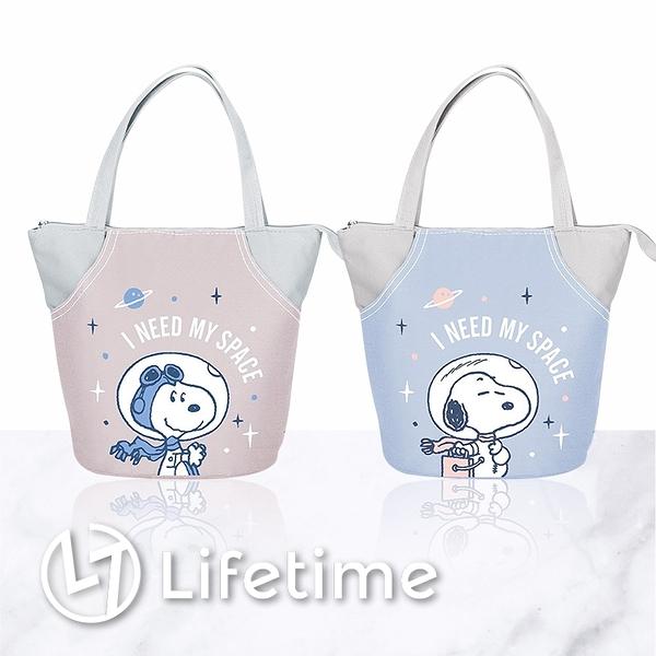 ﹝史努比小星球保溫便當袋﹞正版 便當袋 餐袋 手提袋 保溫袋 SNOOPY〖LifeTime一生流行館〗