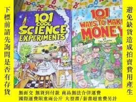 二手書博民逛書店原版101罕見COOL SCIENCE EXPERIMENTS【