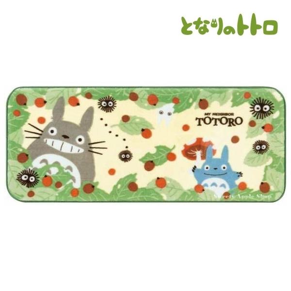 【SAS】日本限定 宮崎駿 龍貓 蘑菇森林版 長型 地墊 / 地毯 50×120cm