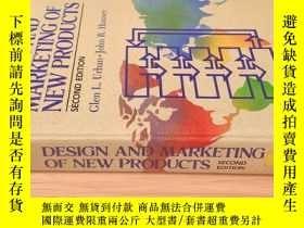 二手書博民逛書店design罕見and marketing of new products(second edition)Y4