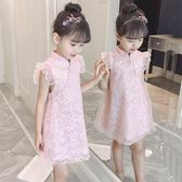女童旗袍裙洋氣公主裙