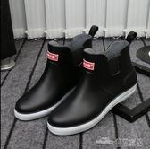 防滑雨鞋男潮時尚膠鞋膠靴雨靴春夏季水靴防水鞋(中秋禮物)
