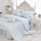 天絲床罩 標準雙人床罩 公主風床罩 綻放...