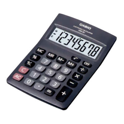 卡西歐CASIO國家考試桌上型計算機MW-8V8位元【KO01002】聖誕節交換禮物 大創意生活百貨