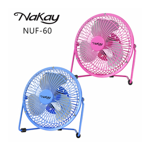 KINYO USB 強力風扇 6吋 NUF-60 混色