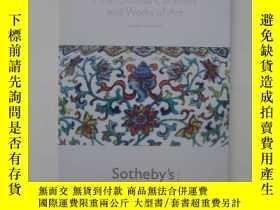 二手書博民逛書店倫敦蘇富比2011春中國瓷器及工藝精品圖錄,Fine罕見chin