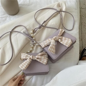 斜背包 夏季小包包仙女包新款潮韓版網紅珍珠流行百搭ins單肩斜背包(快速出貨)