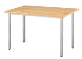 道奇原木實木餐桌(烤銀) 761-5 4×2.5尺 W120×D75×H74公分