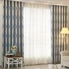 窗簾2021流行窗簾北歐簡約客廳高檔大氣臥室全遮光免打孔安裝隔音穿簾LX 愛丫 新品