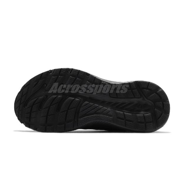 Asics 慢跑鞋 Gel-Contend SL 4E 超寬楦 全黑 工作鞋 皮面 男鞋 【ACS】 1131A050001
