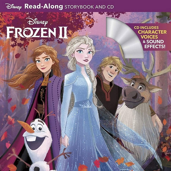 Frozen 2 Read-Along Storybook And CD 冰雪奇緣2有聲讀本(一平裝繪本+一CD)