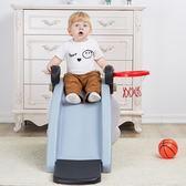搖搖馬 二合一搖馬滑梯兒童搖馬組合大號加厚1-6歲搖椅 KB3121【野之旅】TW