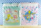 【震撼精品百貨】小黃鳥崔西_Tweety-KITTY聯名款-縮口袋-2入粉藍