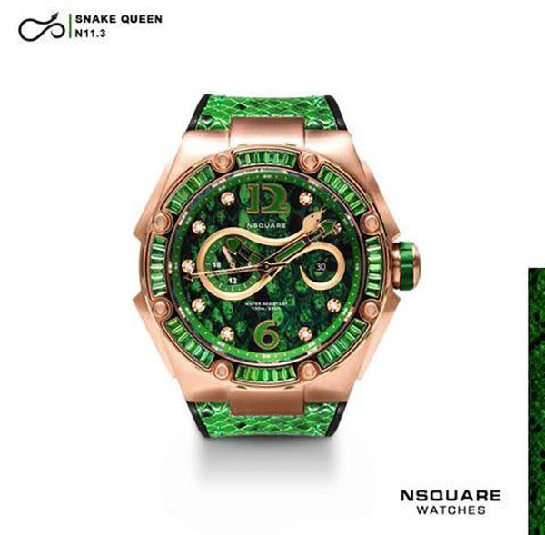 【NSQUARE】/蛇后機械錶(男錶 女錶 Wtahc)/L0471-N11.3/台灣總代理原廠公司貨兩年保固