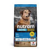 寵物家族-[輸入NT99享9折][效期20210729] 紐頓Nutram-S6成犬雞肉南瓜2KG