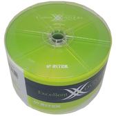 【免運費】錸德 Ritek 空白光碟片 X版 DVD-R 4.7GB 16X 空白光碟片 燒錄片 (50片裸裝x2) 100PCS