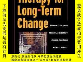 二手書博民逛書店Short-term罕見Therapy For Long-ter