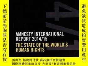 二手書博民逛書店AMNESTY罕見INTERNATIONAL REPORT 20