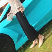 闊腿褲女夏季薄寬鬆直筒褲顯瘦寬腳休閒褲子