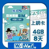 Wi-Ho! 特樂通 亞洲周遊(17國)上網卡(4G/8天)
