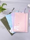 防水袋 雙層手提文件袋拉鏈大容量防水牛津布資料袋學生試卷檔案收納袋【快速出貨八折鉅惠】