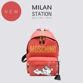 【台中米蘭站】全新品 MOSCHINO 狗年限定限量款後背包
