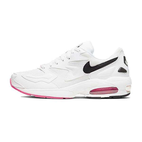 NIKE AIR MAX2 LIGHT 慢跑鞋氣墊男鞋白 AO1741107