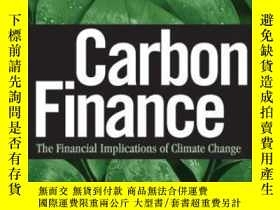 二手書博民逛書店Carbon罕見Finance-碳金融Y436638 Sonia Labatt; Rod... Wiley,