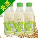 【羅東農會】羅董2倍濃台灣無糖豆奶 (24瓶/箱)~台灣非基因改造黃豆_無糖豆漿