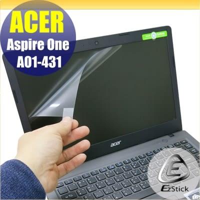 【Ezstick】ACER Cloudbook 14 AO1-431 靜電式筆電LCD液晶螢幕貼 (可選鏡面或霧面)