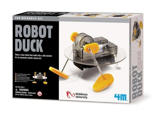 機器鴨 Robot Duck 猶如一隻小鴨在地板上走動