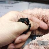 個性戒指小動物飾品蜥蜴指環首飾戒指女【小檸檬3C】