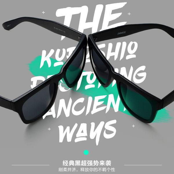 TR復古大框偏光太陽眼鏡 男女可配近視潮墨鏡 旅行開車駕駛必備太陽眼鏡