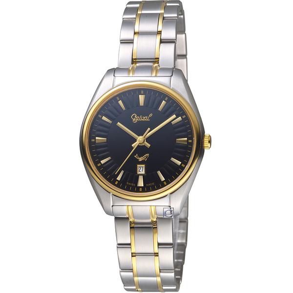愛其華Ogival知性韻調時尚腕錶   350-01LSK-B