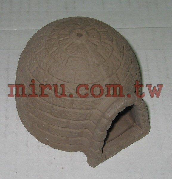 【西高地水族坊】雅柏UP代理 陶瓷製品 造景擺設 造景蒙古包