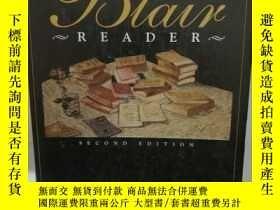 二手書博民逛書店美國文學閱讀教材罕見The Blair Reader (原版教材
