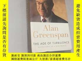 二手書博民逛書店Alan罕見Greenspan The age of turbu