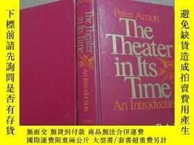 二手書博民逛書店Peter罕見Arnott The Theater in Its