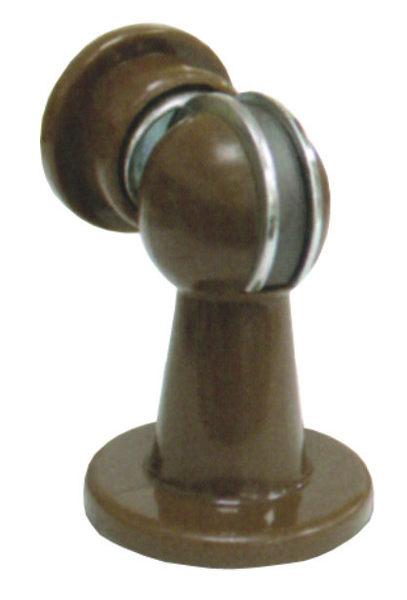 強力電磁門扣 咖啡色 ITEM111 塑膠門停 強力電磁門擋 磁石戶擋 門扣 門碰 門頂 門吸 磁石門止