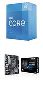 【自組DIY兩件組I3】Intel i3-10105+華碩 PRIME B560M-K/CSM