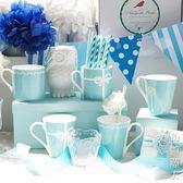馬克杯創意骨瓷禮盒裝情侶水杯結婚伴手禮對杯簡約辦公陶瓷水杯 街頭潮人