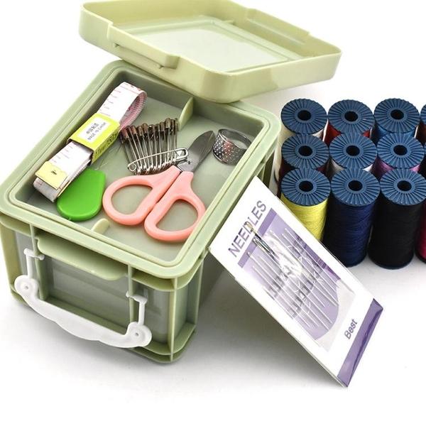 針線盒套裝家用大號多功能迷你韓國便攜針線包線手縫針收納盒 夏季新品