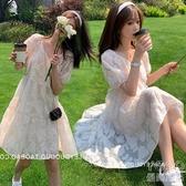 孕婦洋裝 孕婦裝夏裝洋氣小清新裙子夏季潮辣媽2020夏款雪紡孕婦洋裝 優尚良品